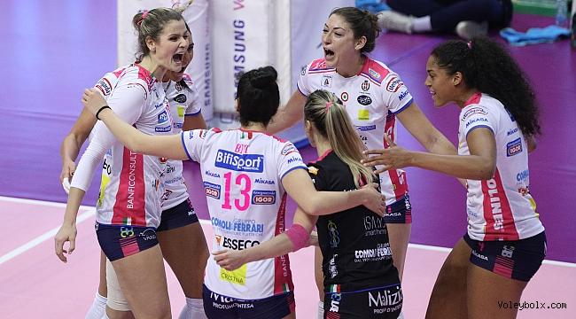 İtalya'da Novara, 3. maçta zorlansa da 3-2 kazandı