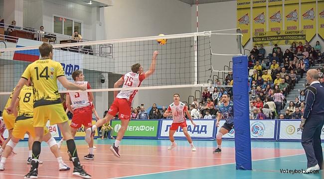 Rusya'da erkekler play-out 5. maçları oynandı...
