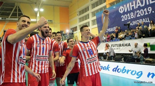 Sırbistan'da ilk maç 3-1 Kızılyıldız'ın
