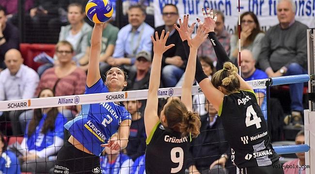 Stuttgart, yarı final serisinde 2-0 öne geçti