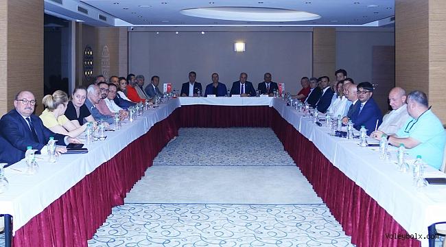2018-2019 Voleybol Sezonu Değerlendirme Toplantısı İstanbul'da Yapıldı
