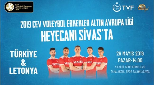 A Erkek Voleybol Milli Takımımız, CEV Avrupa Altın Ligi'nde Sahne Alıyor