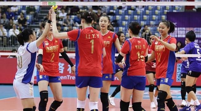 Asya'da Li Yingying'in 40 sayısıyla, Tianjin şampiyon