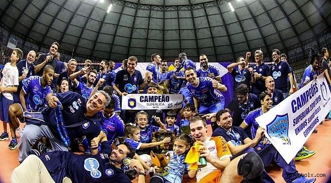 Brezilya'da şampiyon Funvic Taubate!..