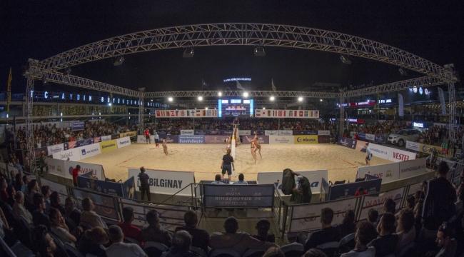 FIVB Plaj Voleybolu Dünya Turu Aydın Etabı'nda 2. Gün Sona Erdi