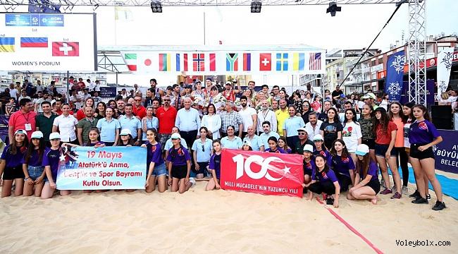 FIVB Plaj Voleybolu Dünya Turu Aydın Etabı Sona Erdi