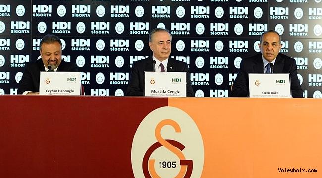 HDI Sigorta, Galatasaray Bayan ve Erkek Voleybol takımına isim sponsoru oldu
