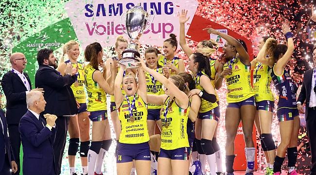 İtalya'da Imoco Volley Conegliano yine şampiyon!..