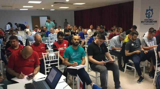Küçükler (Kız-Erkek) Türkiye Şampiyonası'nın Teknik Toplantısı ve Kura Çekimi Yapıldı