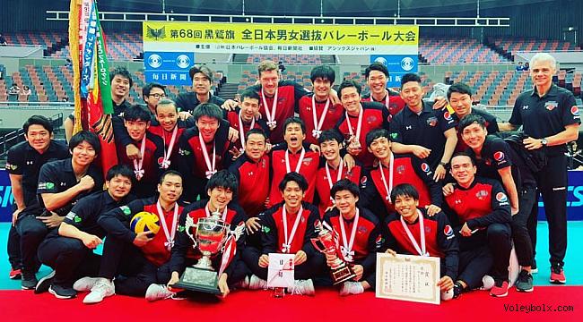 Kurowashiki Kupası erkeklerde Suntory Sunbirds şampiyon