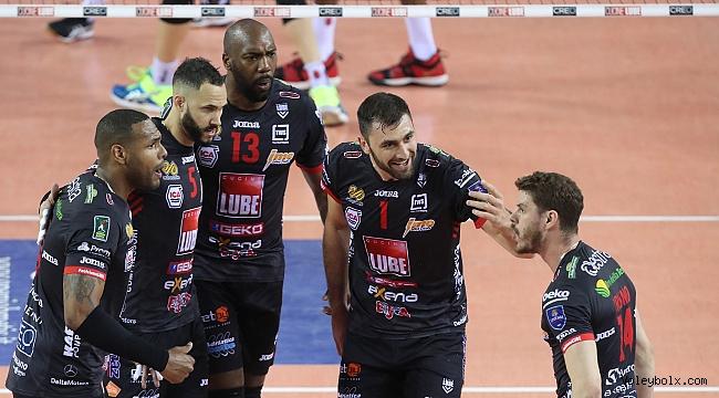 Lube, İtalya'da final serisini eşitledi: 1-1