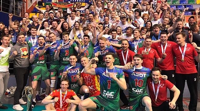 Rusya'da Kuzbass Kemerovo şampiyon!...