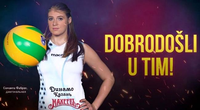 Samanta Fabris resmen Dinamo Kazan'da