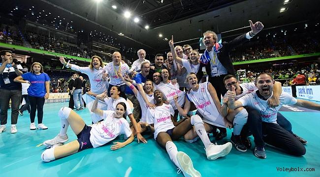 Şampiyonlar Ligi Bayanlarda Şampiyon Igor Gorgonzola Novara!..