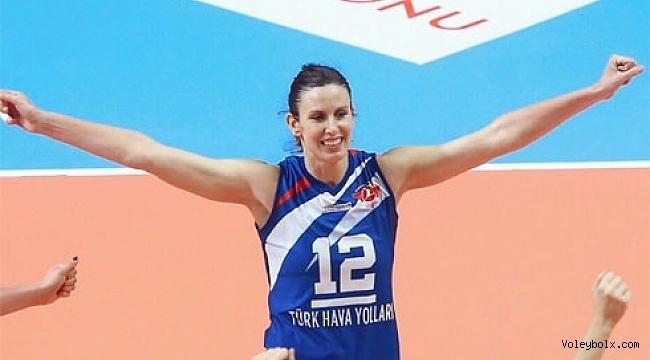 Türk Hava Yolları Spor Jelena Nikolic'e teşekkür etti
