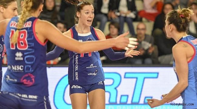 Valeria Caracuta, Scandicci'den Brescia'ya geldi