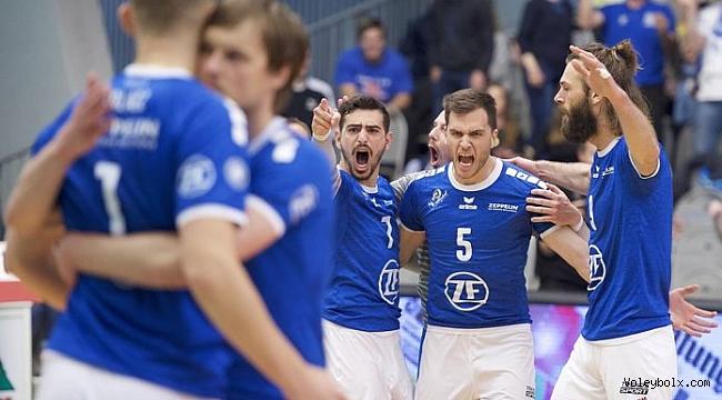 VFB Friedrichshafen, Almanya final serisinde 1 adım önde: 2-1