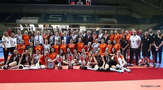 2019 Genç Kızlar Türkiye Şampiyonası Sona Erdi