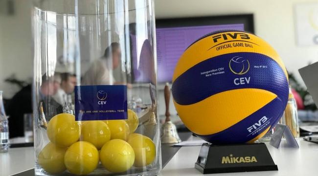 2020 CEV Kupası ve Challenge Kupası'nda Rakiplerimiz Belli Oldu