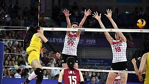 A Bayan Milli Takımımız, Çin'e 3-0 Mağlup Oldu