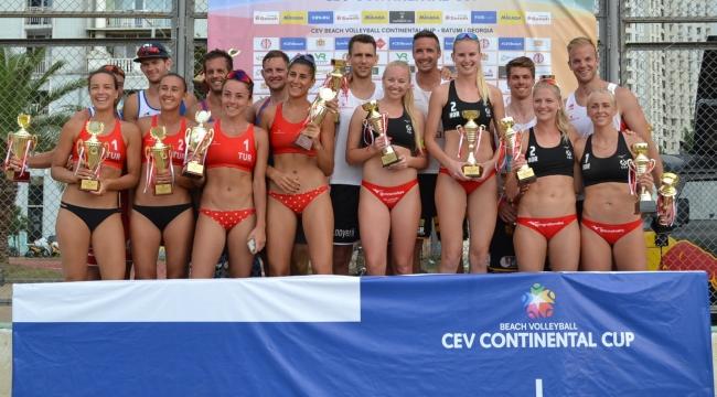 CEV Plaj Voleybolu Continental Cup'ta 2. Tura Yükseldik