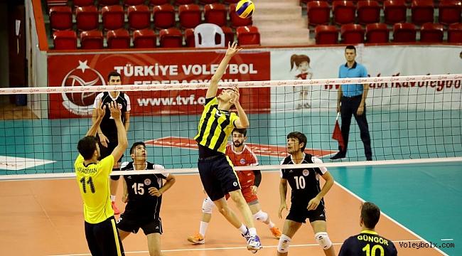 Genç Erkekler Türkiye Şampiyonası 2. Gün Sona Erdi
