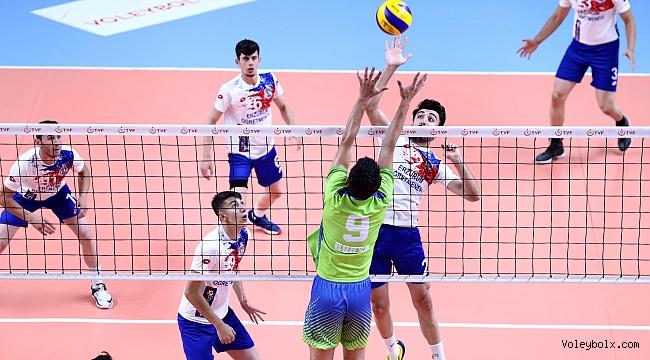 Genç Erkekler Türkiye Şampiyonası'nda Grup Karşılaşmaları Tamamlandı