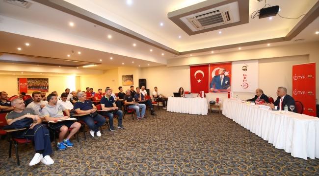 Genç Erkekler Türkiye Şampiyonası'nın Kura Çekimi Yapıldı