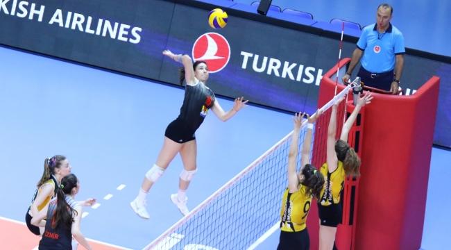 Genç Kızlar Altyapı Türkiye Şampiyonası'nda 2. Gün Geride Kaldı