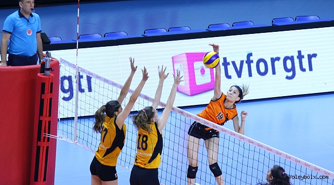 Genç Kızlar Altyapı Türkiye Şampiyonası'nda Grup Etabı Sona Erdi