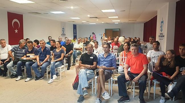Tolga Demirer Veteranlar Şampiyonası'nın Teknik Toplantısı Yapıldı