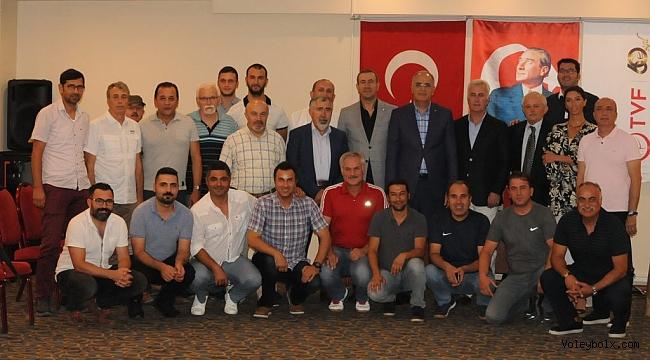Tüm Voleybol Antrenörleri Federasyonu Olağan Genel Kurulu Ankara'da Yapıldı