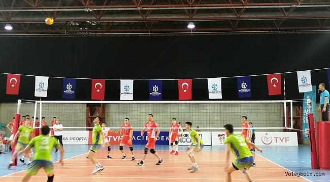 Yıldız Erkekler Türkiye Şampiyonası'nda Yarı Finalistler Belli Oldu