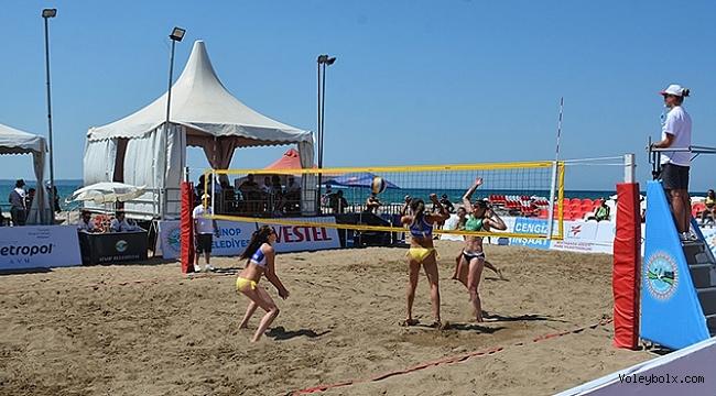 2019 TVF Pro Beach Tour Sinop Etabı'nda Finalistler Belli Oldu