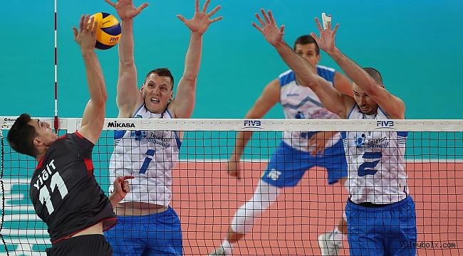 A Erkek Milli Takımımız, Slovenya'ya 3-1 Mağlup Oldu