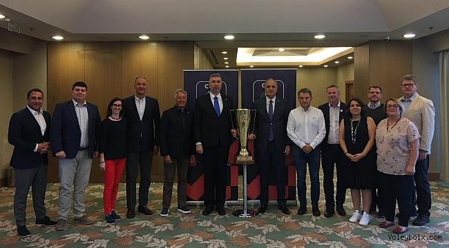 Avrupa Kadınlar Voleybol Şampiyonası'nın Politik Toplantısı Ankara'da Yapıldı