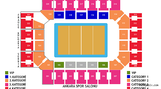 Avrupa Voleybol Şampiyonası'nın final etabı biletleri de satışa çıktı