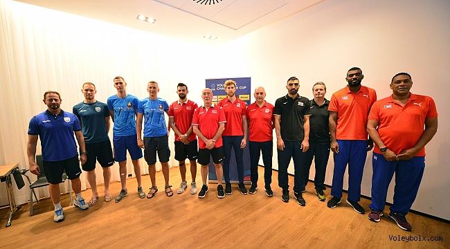 FIVB Challenger Kupası'nın Basın Toplantısı Ljubljana'da Gerçekleştirildi