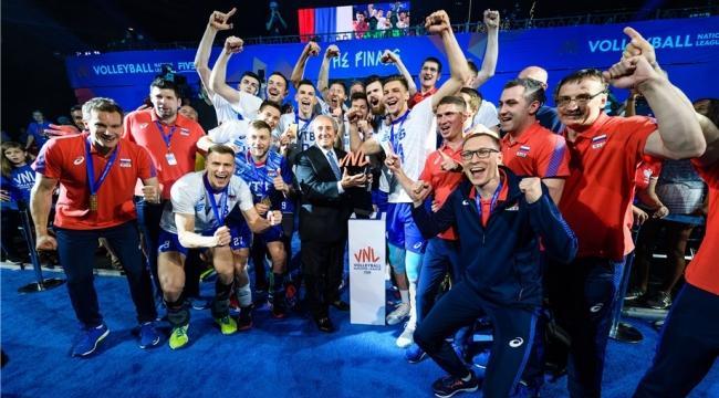 Milletler Ligi'nde şampiyon Rusya