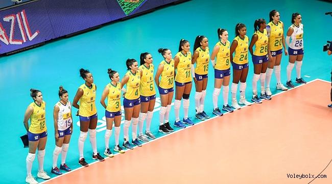 Milletler Ligi Yarı Finalinde Rakibimiz Brezilya
