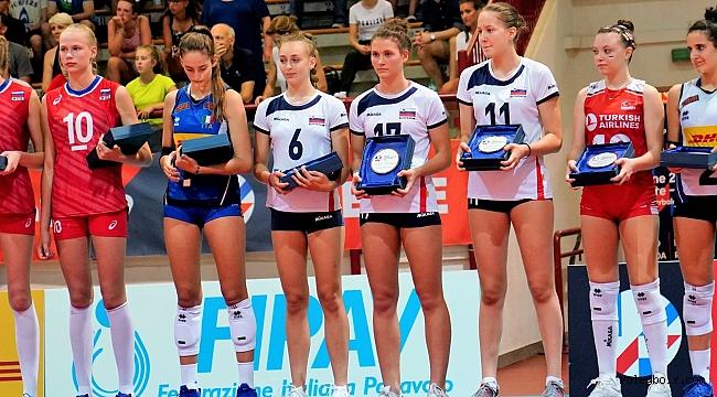 Özge Arslanalp, U16 Avrupa Şampiyonası'nda Rüya Takım'da