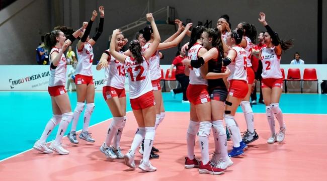 U16 Küçük Kız Milli Takımımız, Avrupa Şampiyonası'nda Namağlup Yarı Finalde