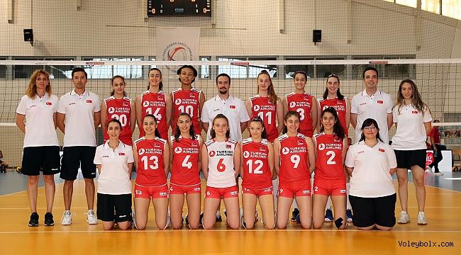 U16 Küçük Kız Milli Takımımız, Balkan Şampiyonası'na Galibiyetle Başladı