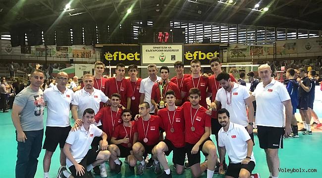 U17 Erkek Milli Takımımız, Balkan Üçüncüsü Oldu