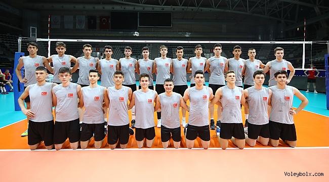 U17 Küçük Erkek Milli Takımımız, Balkan Şampiyonası'na Galibiyetle Başladı