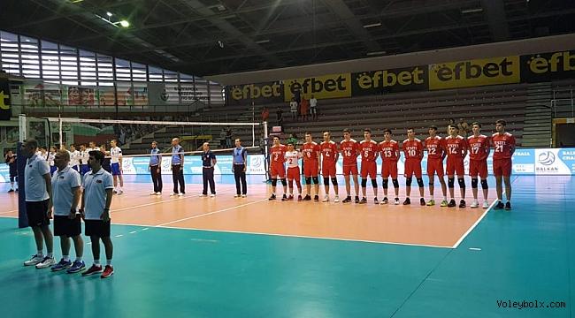 U17 Küçük Erkek Milli Takımımız, Balkan Şampiyonası'nda Üçüncülük Maçı Oynayacak
