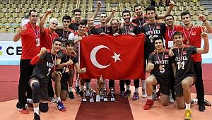 U18 Erkek Milli Takımımız, Namağlup Balkan Şampiyonu