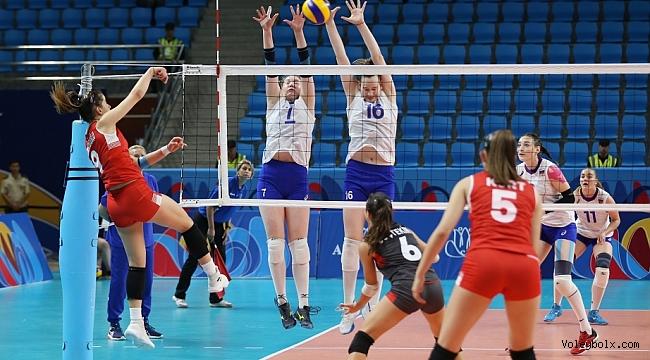 U18 Genç Kız Milli Takımımız, EYOF'ta Bronz Madalya Maçına Çıkacak