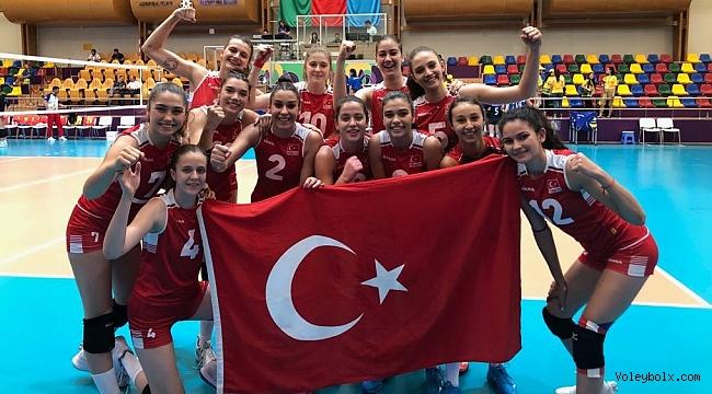 U18 Genç Kız Milli Takımımız, İtalya'yı 3-0 Mağlup Etti