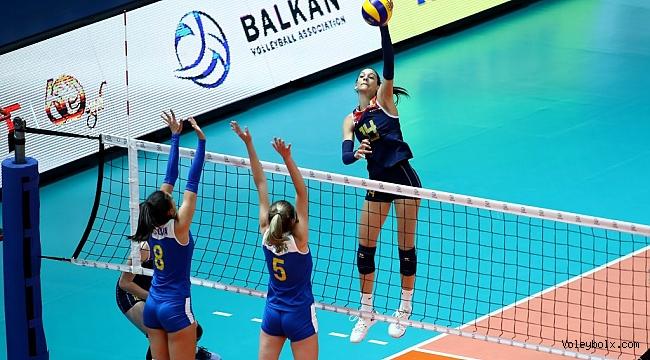 U19 Bayanlar Balkan Şampiyonası'nda 2. Gün Sona Erdi